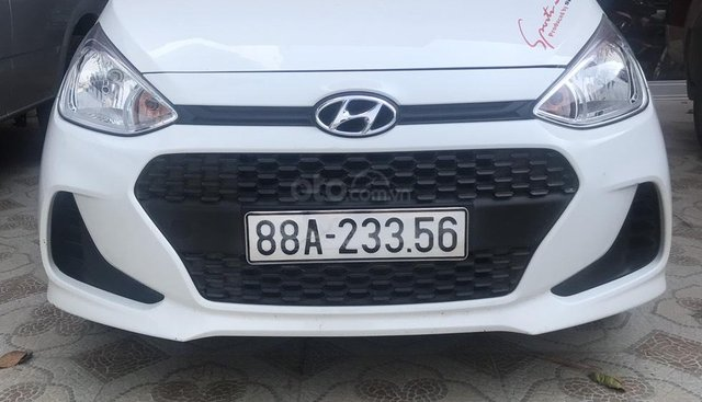 Bán xe Hyundai Grand i10 đời 2018, màu trắng