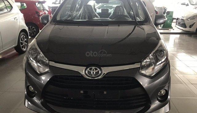 Toyota Buôn Ma Thuột - Cần bán Toyota Wigo 2019, màu đen - 0947.90.93.47