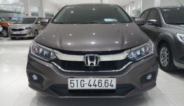 Bán Honda City TOP 1.5AT năm sản xuất 2017, màu xám (ghi), giá chỉ 545 triệu