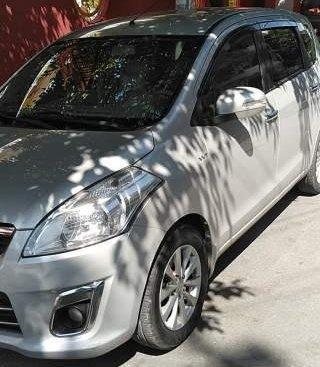 Bán Suzuki Ertiga năm sản xuất 2015, màu bạc, xe nhập số tự động