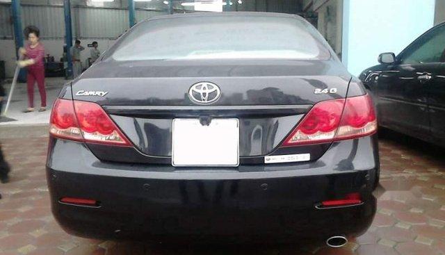 Bán xe Toyota Camry 2009, màu đen số tự động