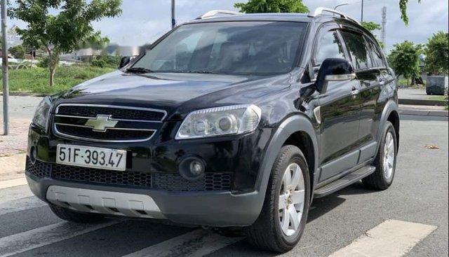 Chính chủ bán Chevrolet Captiva LTZ 2008, màu đen, bản đủ