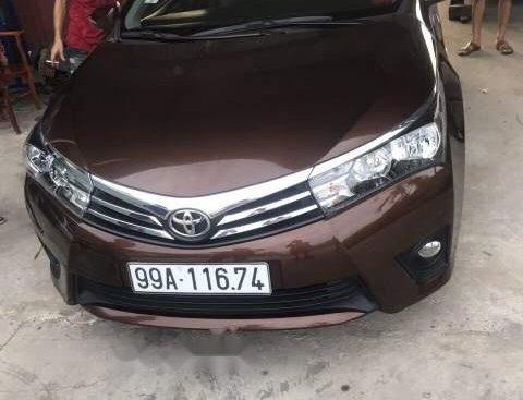 Bán Toyota Corolla altis 1.8G năm sản xuất 2016