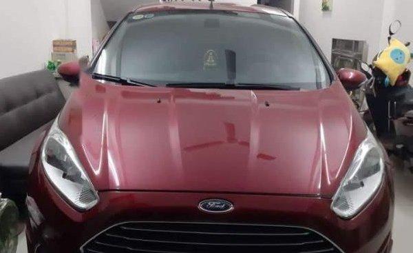 Cần bán Ford Fiesta 1.0 Ecoboost đời 2014, màu đỏ