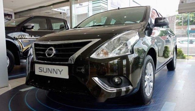 Bán Nissan Sunny đời 2019, màu nâu