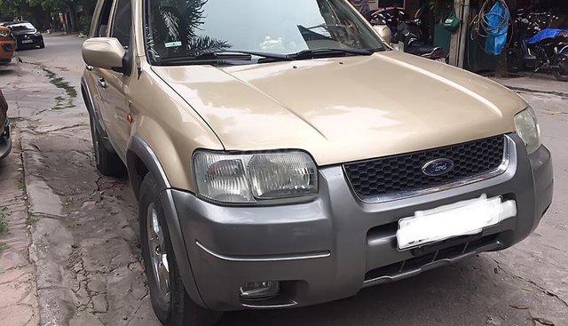 Bán xe Ford Escape đời 2002, màu vàng, tên tư nhân