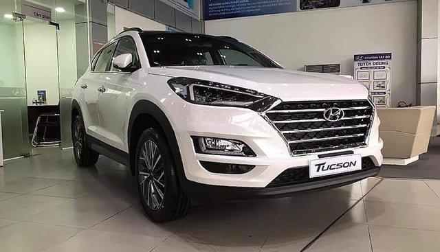 Bán Hyundai Tucson 2.0 ATH 2019, màu trắng, 878 triệu