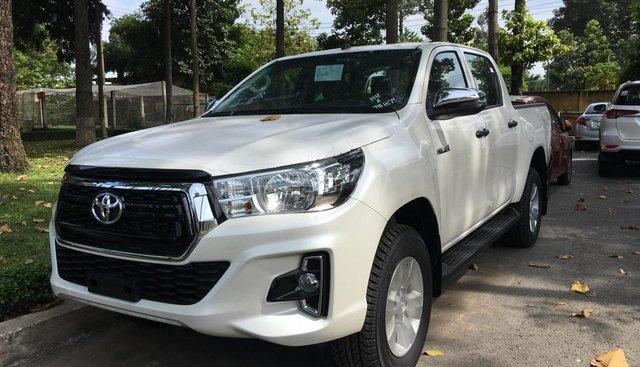 Toyota Hilux 2.4E AT 2019, nhập khẩu Thái, giá tốt - giao ngay mọi miền tổ quốc - hỗ trợ mua xe trả góp