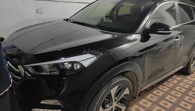 Bán Hyundai Tucson năm 2018, màu đen, chính chủ, giá tốt
