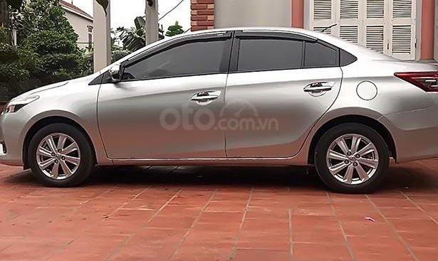 Bán xe Toyota Vios đời 2016, màu bạc, nhập khẩu