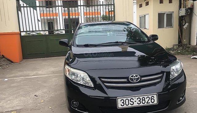 Bán Toyota Corolla altis 2008, màu đen, nhập khẩu, chính chủ