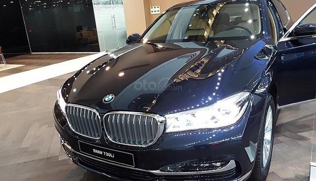 Bán BMW 730Li 2019, màu xanh lam, xe nhập