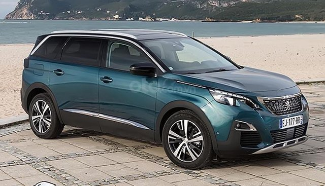 Bán xe Peugeot 5008 sản xuất 2019, màu xanh lam