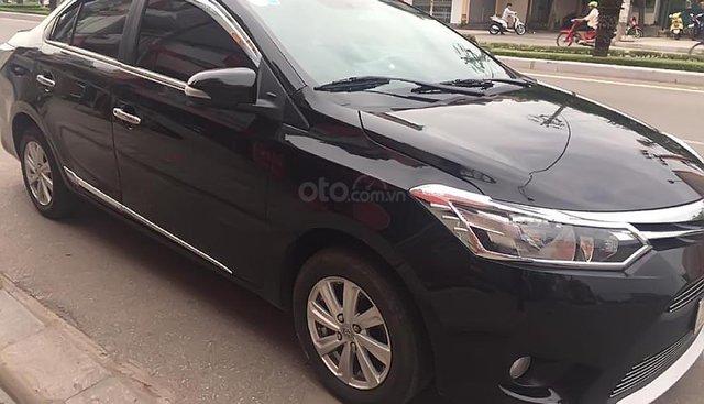 Cần bán xe Toyota Vios năm 2014, màu đen, 360 triệu