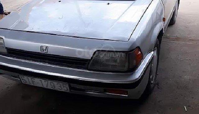Bán Honda Civic 1.5 MT đời 1986, màu bạc, nhập khẩu