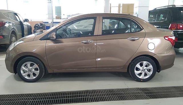 Bán Hyundai Grand i10 2019, màu nâu, giá cạnh tranh