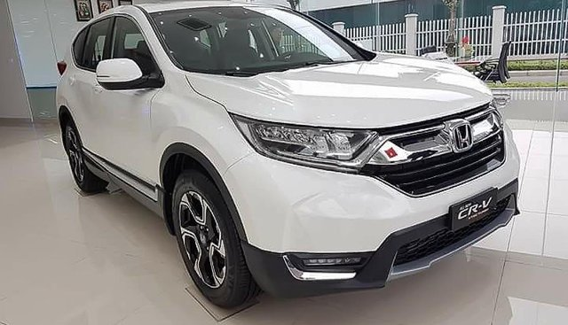 Bán Honda CR V L sản xuất 2019, màu trắng, xe nhập