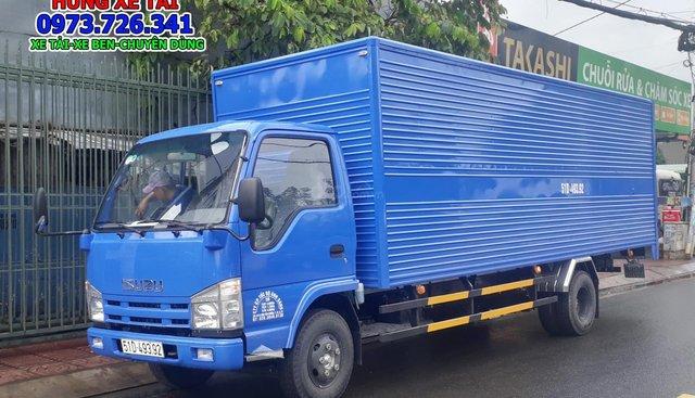 Bán xe tải Isuzu 1T9 thùng dài 6m2 đời 2019 trả trước 100 triệu