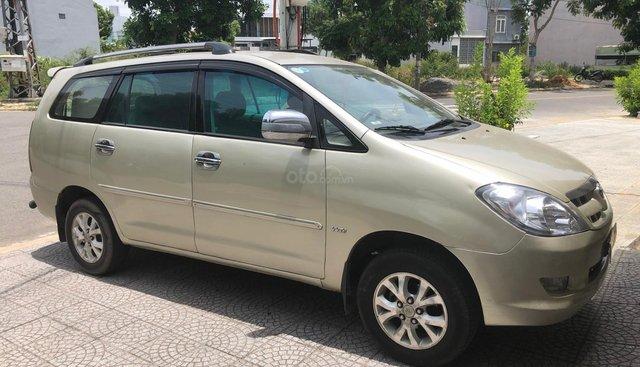 Bán Toyota Innova G 2008, màu vàng