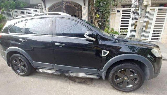 Bán xe Chevrolet Captiva đời 2008, màu đen, biển số Đà Nẵng