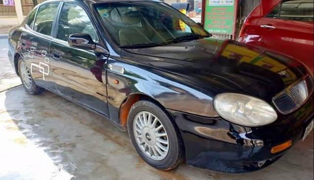 Chính chủ bán xe Daewoo Leganza đời 2002, màu đen, nhập khẩu Hàn Quốc