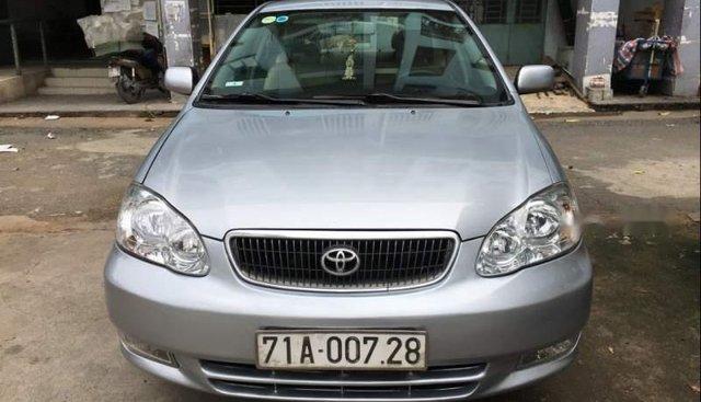 Bán Toyota Corolla altis năm 2001, màu bạc, xe nhập, giá tốt