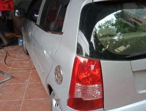 Bán Kia Morning 2005, màu bạc, xe nhập