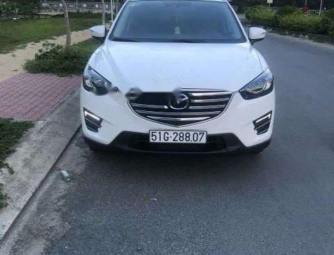 Gia đình bán Mazda CX 5 sản xuất năm 2017, màu trắng, nhập khẩu