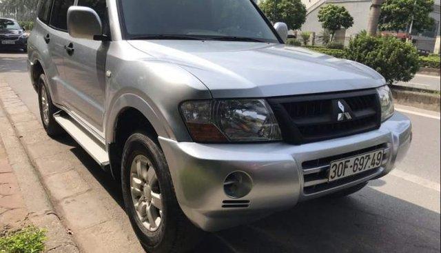 Chính chủ bán Mitsubishi Pajero 3.0 đời 2005, màu bạc, xe nhập