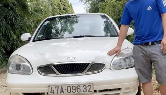 Bán Daewoo Nubira sản xuất năm 2003, màu trắng, còn rất đẹp