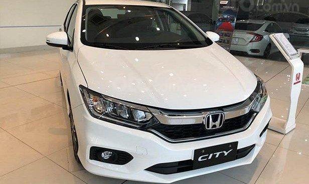 Hà Nội: Siêu khuyến mãi ô tô Honda City TOP đời 2019, trả trước 120tr hỗ trợ trả góp