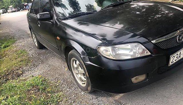 Bán xe Mazda 323 2003, gầm bệ, máy móc, nội thất nguyên zin