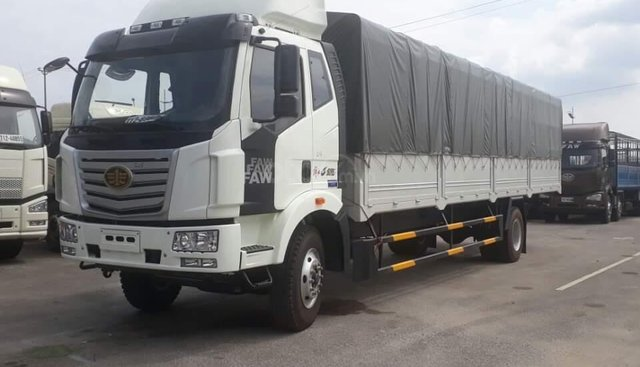 Bán xe tải FAW 8 tấn thùng siêu dài 9m7,nhập khẩu 2019
