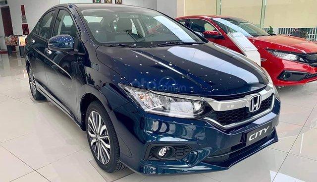 Bán ô tô Honda City sản xuất 2019, màu xanh lam, giá tốt