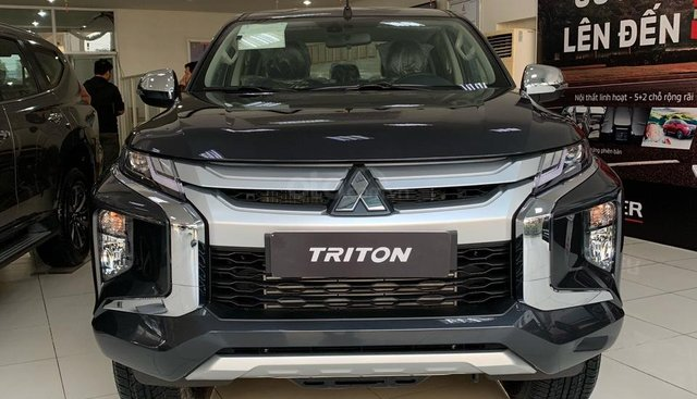 Cần bán xe Mitsubishi Triton năm 2019, màu xám (ghi), nhập khẩu Thái Lan, KM lớn trong tháng, LH 0934515226