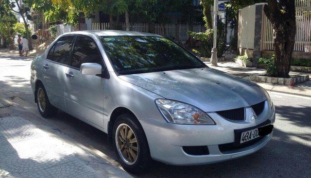 Bán xe Mitsubishi Lancer GLX 2005, màu bạc, nhập khẩu nguyên chiếc, chính chủ Đà Nẵng