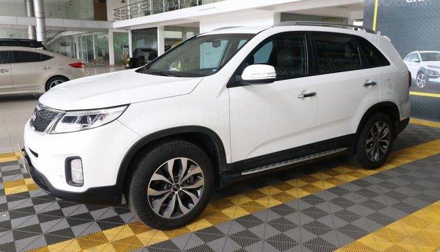 Bán Kia Sorento GAT 2.4AT năm sản xuất 2016, màu trắng