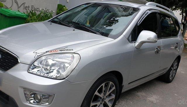 Bán Kia Carens S máy 2.0 số tự động đời T3/2014, SX 2013, màu bạc tuyệt đẹp mới 85%