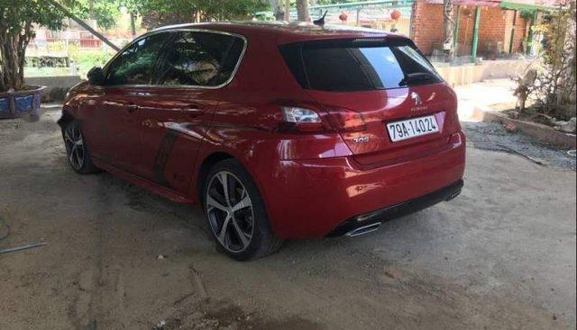 Bán xe Peugeot 308 2016, màu đỏ, nhập khẩu nguyên chiếc