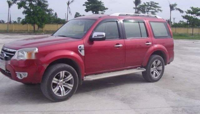 Bán xe Ford Everest sản xuất 2011, màu đỏ