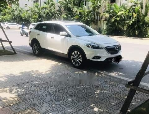 Chính chủ bán xe Mazda CX 9 đời 2014, màu trắng, nhập khẩu