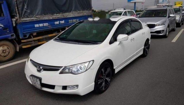 Cần bán xe Honda Civic 2.0AT đời 2007, màu trắng