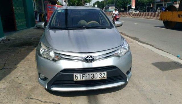 Bán Toyota Vios sản xuất năm 2015, màu bạc, nhập khẩu