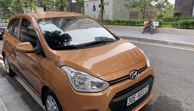 Bán xe Hyundai Grand i10 sản xuất 2016, màu nâu, nhập khẩu