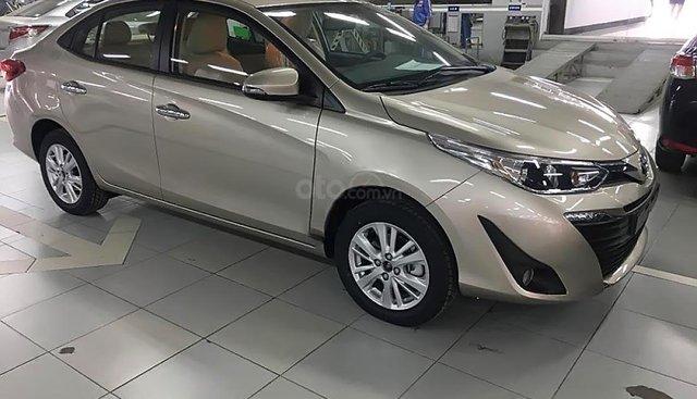 Bán xe Toyota Vios 1.5G 2019, màu vàng