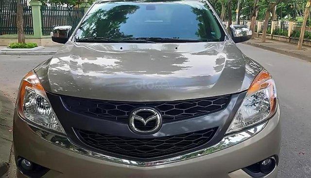 Bán Mazda BT 50 2.2AT 2015, màu vàng, nhập khẩu