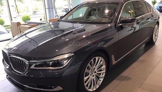 Cần bán xe BMW 7 Series 750Li năm 2018, màu xanh lam, nhập khẩu