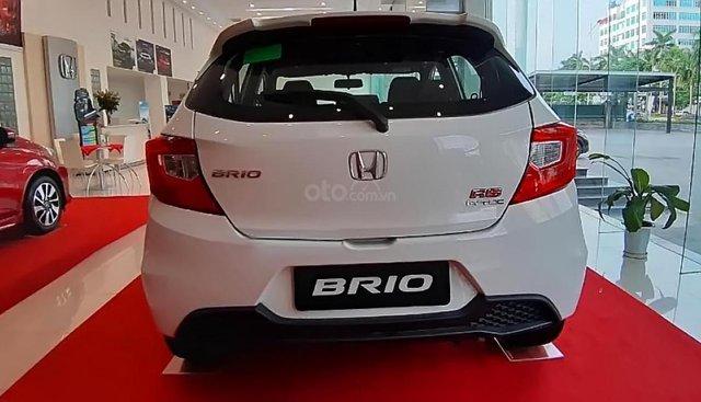 Bán xe Honda Brio RS đời 2019, màu trắng, nhập khẩu nguyên chiếc