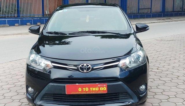 Ô Tô Thủ Đô bán Toyota Vios 1.5 AT 2017, màu đen 469 triệu