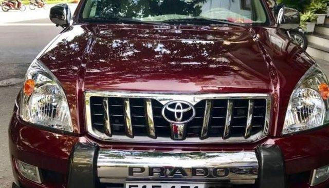 Bán Toyota Land Cruiser Prado 2010, màu đỏ, xe nhập, số tự động